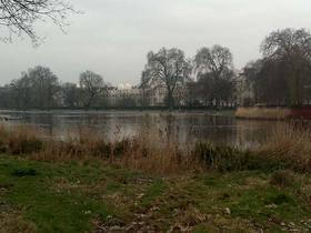 Blick vom Regents Park auf die London Business School LBS