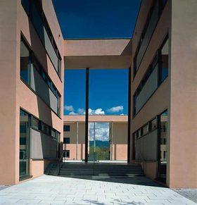 Campus der Fachhochschule Deggendorf
