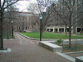 Mack Plaza, Wharton, University of Pennsylvania