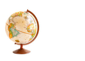 Weltkugel, Globus, Welt, weltweit, global, Globalisierung