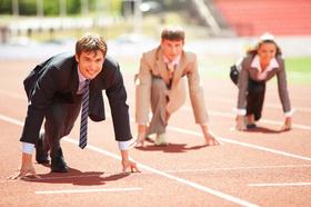 Wettbewerb, Wettlauf, Competition, Kopf-an-Kopf-Rennen