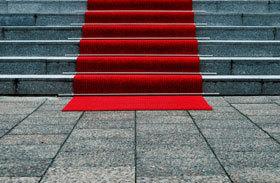 Karriere Aufstieg Roter Teppich