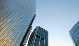 Banken, Hochhäuser, Finance