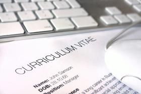 Tastatur Mac Lebenslauf, CV, Curriculum Vitae