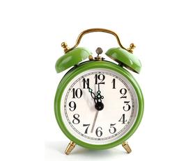 Wecker, Uhr, Arbeitszeit