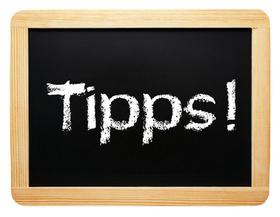 Tipps, Ratschläge, Ratschlag, Hilfestellung, Ideen, Unterstützung
