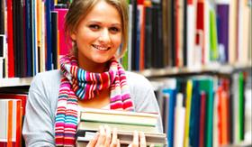 Stipendium Studentin Bibliothek