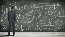 Präsentation, Tafel, Vortrag, Geschäftsmann, Kalkulation