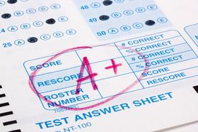 Testergebnisse, Punkte, Score, Multiple Choice, sehr gut