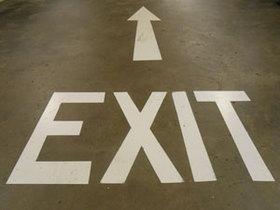 Exit, Kündigung