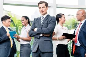 Arrogant, Business, Men, Group, Stehend