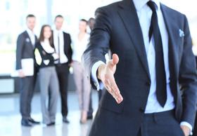 Business, Men, Hand, Anzug, Willkommen, Event, Meeting, Konferenz, Consulting, Büro