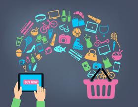 Shopping, Einkaufen, Marketing, Sale, Vertrieb, Shop, Grafik
