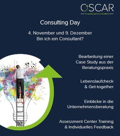 Consulting Day OSCAR