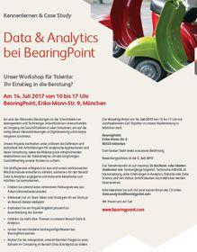 Data & Analytics BearingPoint