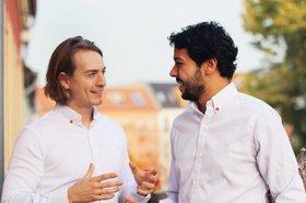 Guillaume and Jason Grullón