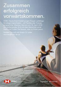 HSBC; Anzeige; Event
