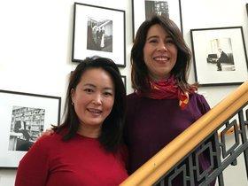 María José Rojas and María Kim Shin